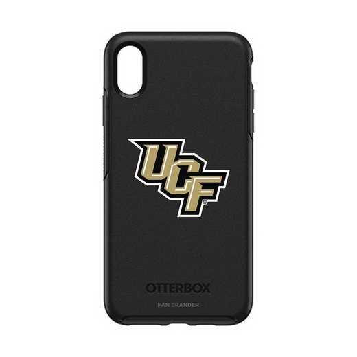 IPH-XSM-BK-SYM-UCF-D101: FB OB iPhone XS Max BLK Central Florida