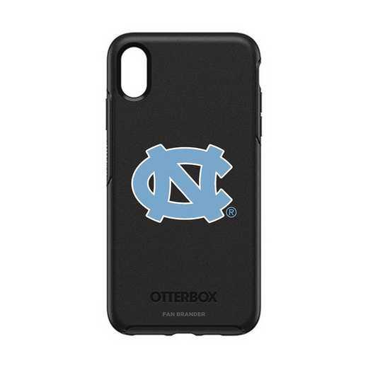 IPH-XSM-BK-SYM-UNC-D101: FB OB iPhone XS Max BLK North Carolina