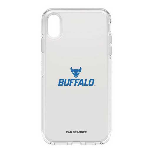 IPH-XSM-CL-SYM-BUFB-D101: FB OB iPhone XS Max CLR Buffalo
