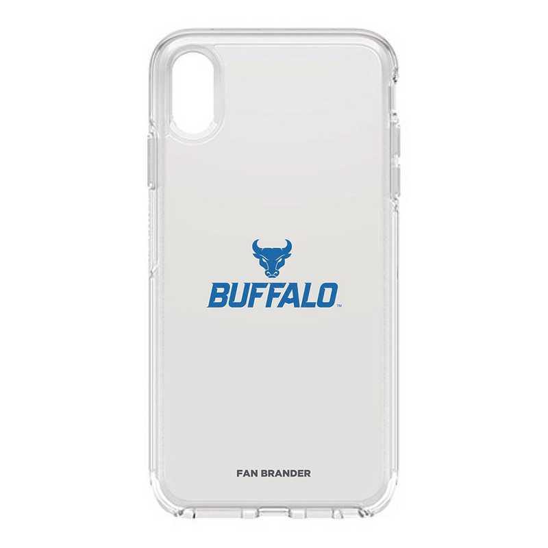 IPH-XSM-CL-SYM-BUFB-D101: FB OB iPhone XS Max CLR Buffalo