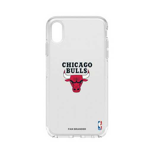 IPH-XSM-CL-SYM-CHBL-D101: BL Chicago Bulls Otterbox iPhone XS Max Symmetry