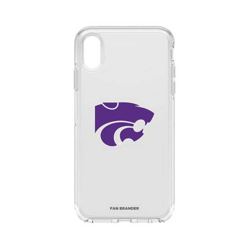 IPH-XSM-CL-SYM-KST-D101: FB OB iPhone XS Max CLR Kansas State