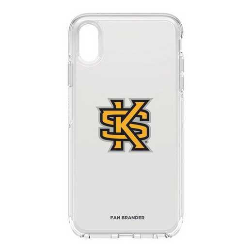 IPH-XSM-CL-SYM-KSUA-D101: FB OB iPhone XS Max CLR Kennesaw State