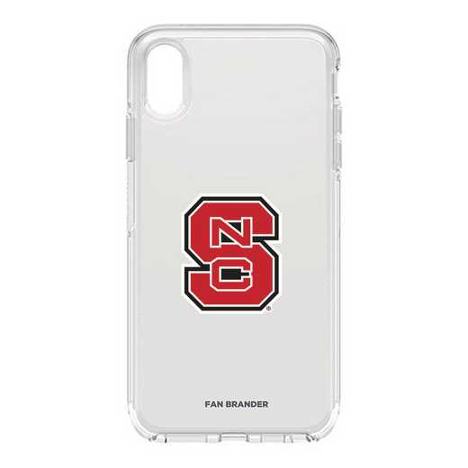 IPH-XSM-CL-SYM-NCS-D101: FB OB iPhone XS Max CLR North Carolina State