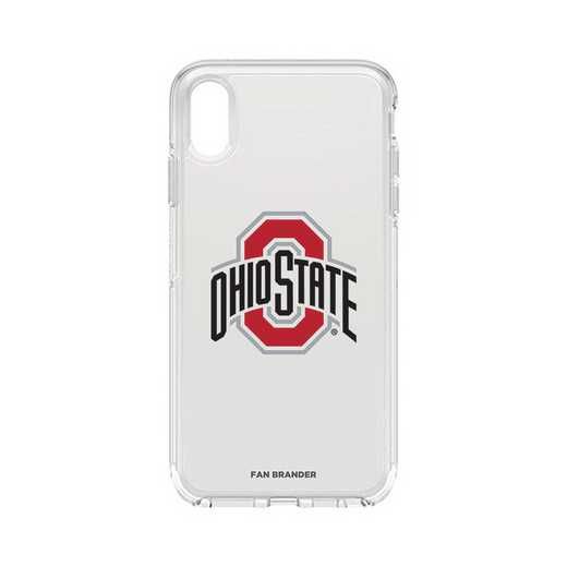 IPH-XSM-CL-SYM-OHS-D101: FB OB iPhone XS Max CLR Ohio State