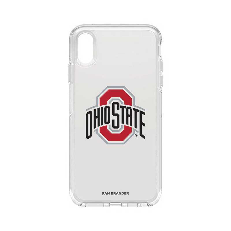 IPH-XSM-CL-SYM-OHS-D101: FB OB iPhone XS Max CLR Ohio State