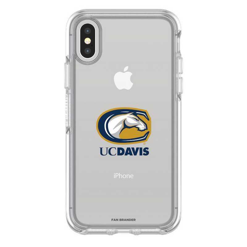 IPH-XSM-CL-SYM-UCD-D101: FB OB iPhone XS Max CLR California-Davis