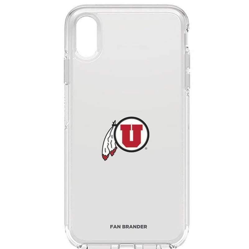 IPH-XSM-CL-SYM-UT-D101: FB OB iPhone XS Max CLR Utah