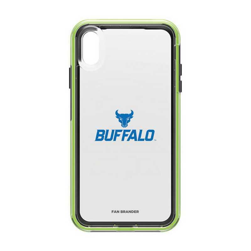 IPH-XSM-NF-SLA-BUFB-D101: Buffalo Bulls LifeProof iPhone XS Max SLAM