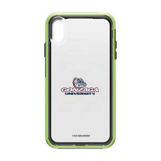IPH-XSM-NF-SLA-GON-D101: Gonzaga Bulldogs LifeProof iPhone XS Max SLAM