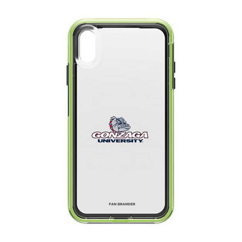 IPH-XSM-NF-SLA-GON-D101: Gonzaga Bulldogs LifeProof iPhone XS Max SLAM