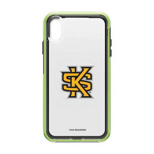 IPH-XSM-NF-SLA-KSUA-D101: Kennesaw State Owls LifeProof iPhone XS Max SLAM