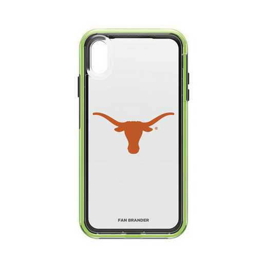 IPH-XSM-NF-SLA-TEX-D101: Texas Longhorns  LifeProof iPhone XS Max SLAM