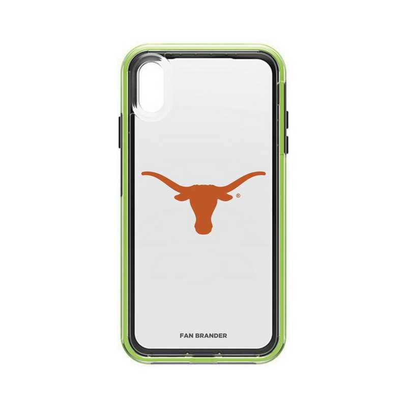 IPH-XSM-NF-SLA-TEX-D101: Texas Longhorns  LifeProof iPhone XS Max SLAM