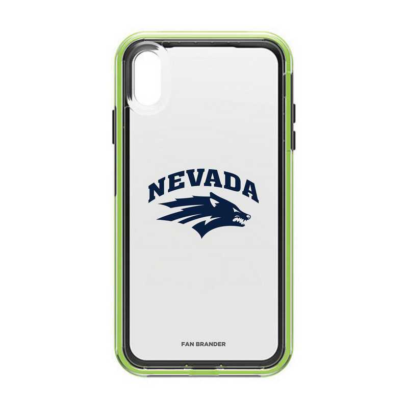 IPH-XSM-NF-SLA-UNR-D101: Nevada Wolf Pack LifeProof iPhone XS Max SLAM