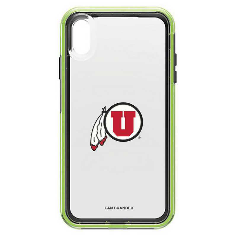IPH-XSM-NF-SLA-UT-D101: Utah Utes LifeProof iPhone XS Max SLAM