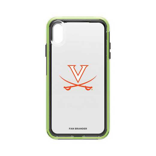 IPH-XSM-NF-SLA-UVA-D101: Virginia Cavaliers LifeProof iPhone XS Max SLAM