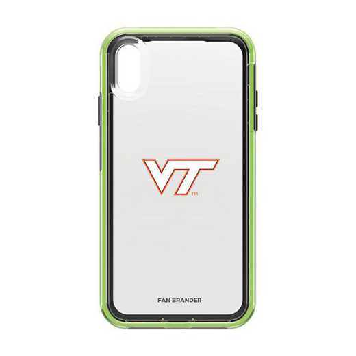 IPH-XSM-NF-SLA-VAT-D101: Virginia Tech Hokies LifeProof iPhone XS Max SLAM