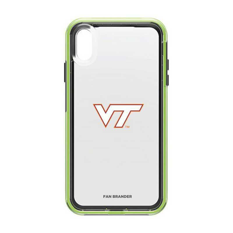 IPH-XSM-NF-SLA-VAT-D101: Virginia Tech Hokies LifeProof iPhone XS Max SLAM