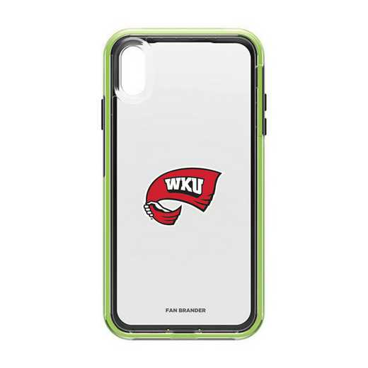 IPH-XSM-NF-SLA-WKU-D101: Western Kentucky Hilltoppers LifeProof iPhone XS Max SLAM