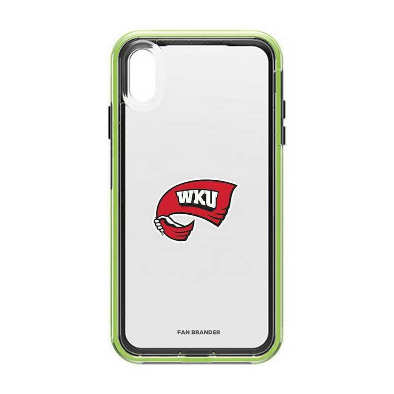 IPH-XSM-NF-SLA-WKU-D101: Western Kentucky Hilltoppers LifeProof iPhone XS Max SLAM