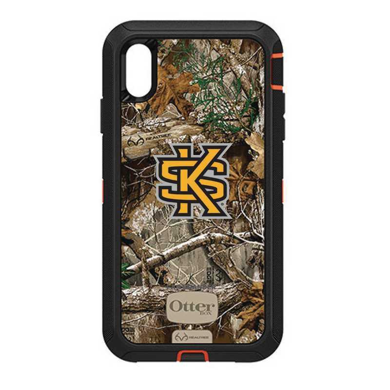 IPH-XSM-RT-DEF-KSUA-D101: FB OB iPhone XS Max RT Kennesaw State