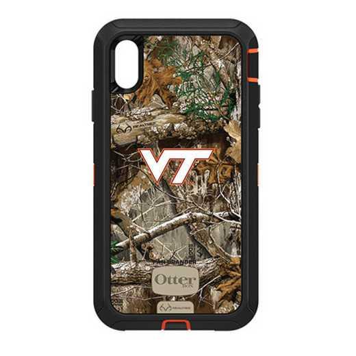 IPH-XSM-RT-DEF-VAT-D101: FB OB iPhone XS Max RT Virginia Tech