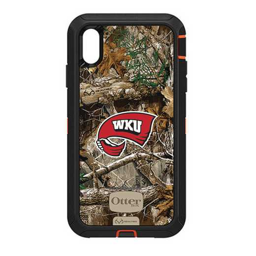 IPH-XSM-RT-DEF-WKU-D101: FB OB iPhone XS Max RT Western Kentucky