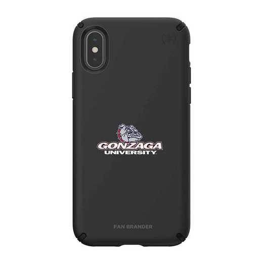 IPH-XXS-BK-PRE-GON-D101: Gonzaga Bulldogs Speck iPhone XS/X Presidio Pro