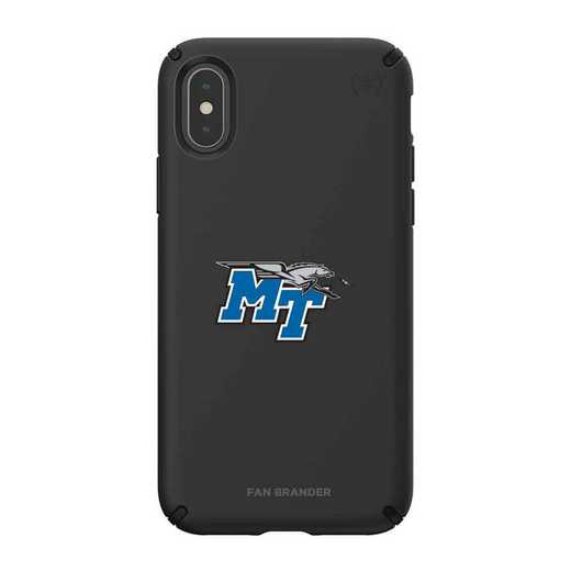IPH-XXS-BK-PRE-MTN-D101: Middle Tennessee State Speck iPhone XS/X Presidio Pro