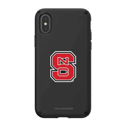 IPH-XXS-BK-PRE-NCS-D101: NC State Wolfpack Speck iPhone XS/X Presidio Pro
