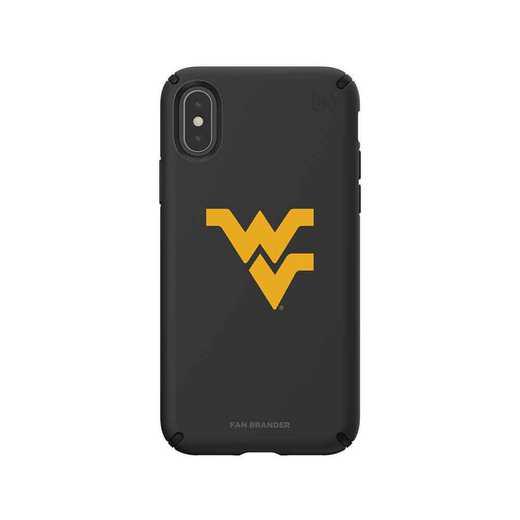 IPH-XXS-BK-PRE-WV-D101: West Virginia Mountaineers Speck iPhone XS/X Presidio Pro