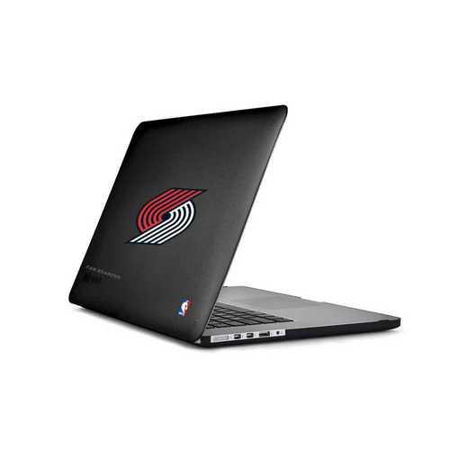 MAC-15T-BK-SMS-POT-D101: BL Speck Presido Macbook Pro 15 Black, Portland Trailblazers
