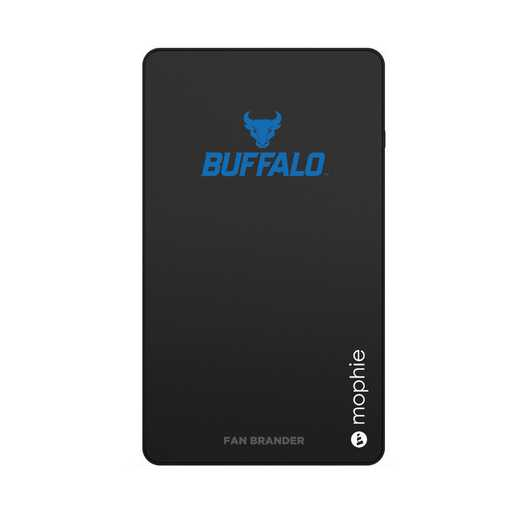 WD-UNI-BK-CFM-BUFB-D101: FB Buffalo Bulls mophie USB powerstation Mini