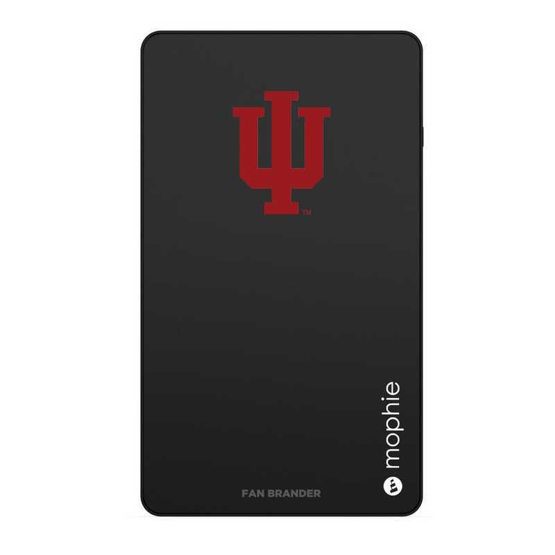 WD-UNI-BK-CFM-IU-D101: FB Indiana Hoosiers mophie USB powerstation Mini