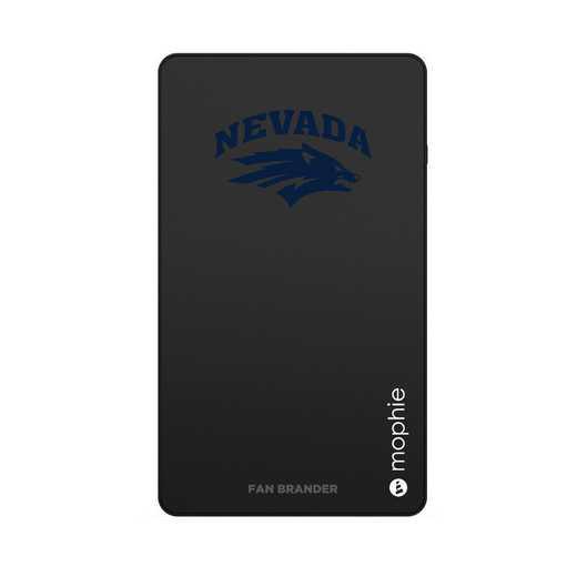 WD-UNI-BK-CFM-UNR-D101: FB Nevada Wolf Pack mophie USB powerstation Mini