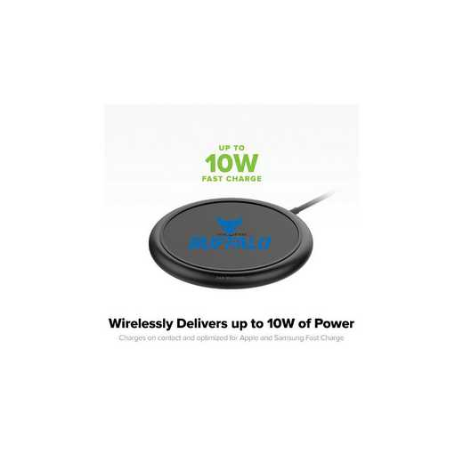 WD-UNI-BK-CFW-BUFB-D101: FB Buffalo Bulls mophie Wireless Devices charge