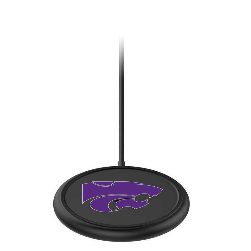 WD-UNI-BK-CFW-KST-D101: FB Kansas State Wildcats mophie Wireless Devices charge