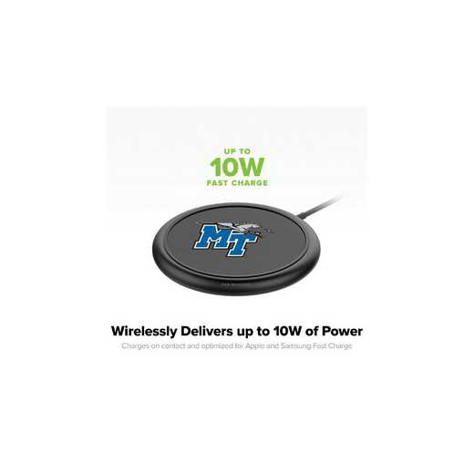 WD-UNI-BK-CFW-MTN-D101: FB Middle Tennessee St Blue Raiders mophie Wireless