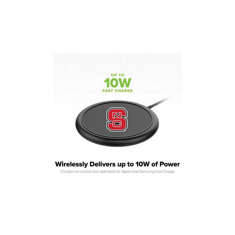 WD-UNI-BK-CFW-NCS-D101: FB NC State Wolfpack mophie Wireless Devices charge