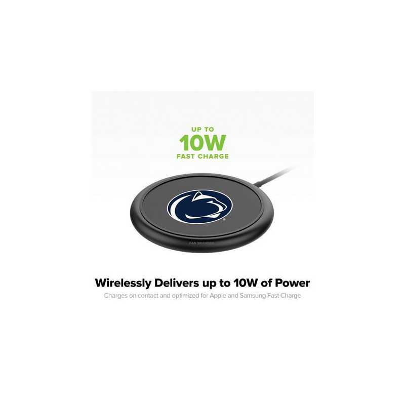 WD-UNI-BK-CFW-PST-D101: FB Penn State Nittany Lions mophie Wireless Devices charge