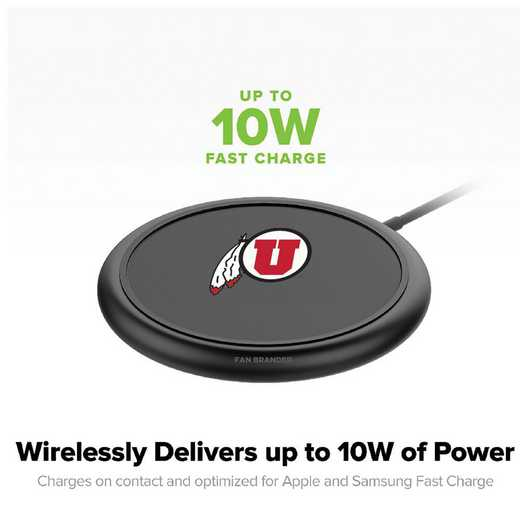WD-UNI-BK-CFW-UT-D101: FB Utah Utes mophie Wireless Devices charge