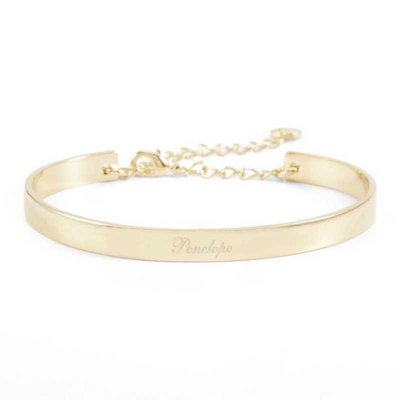 BYB1031G: Gwen Cuff Bracelet Gold Tone