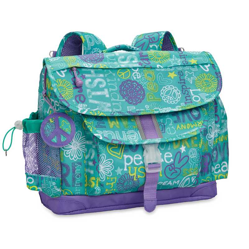 311002: Hope Peace Love Backpack MED