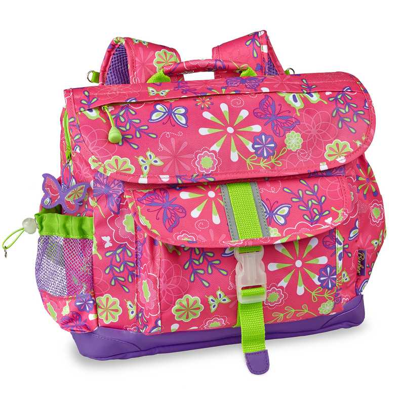 308001: Butterfly Garden Backpack LG