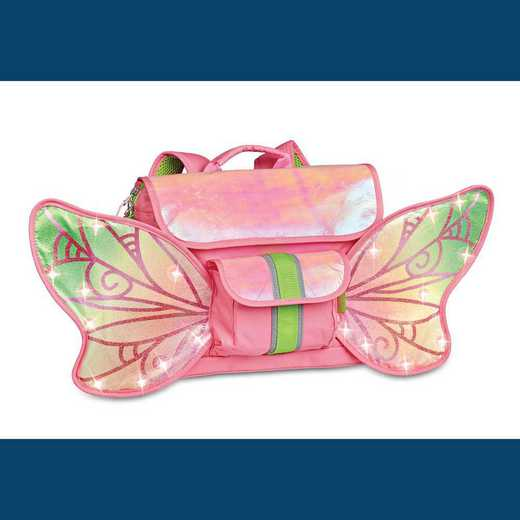 302007: LED Fairy Flyer Backpack - Pink (Small)