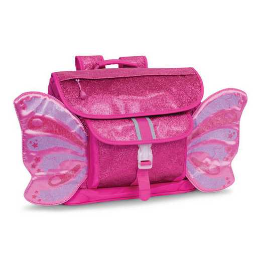 302013: Sparkalicious Butterflyer Backpack - Ruby Raspberry (Medium)