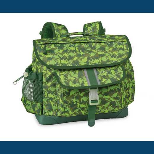 306001: Dino Camo Backpack - Green (Large)