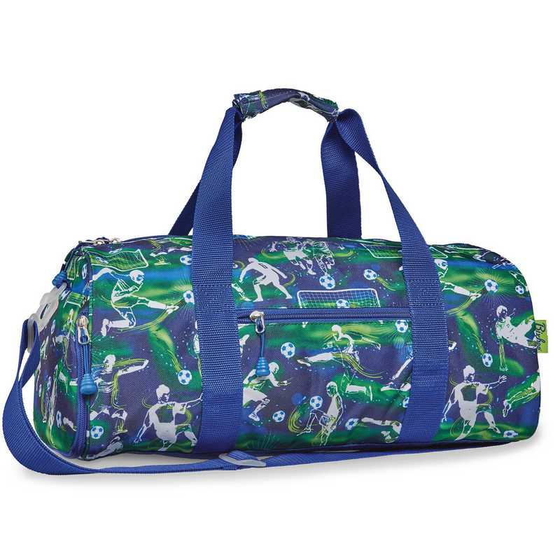 314004: Bixbee Soccer Star Blue Duffle w/ Ball Bag - Large