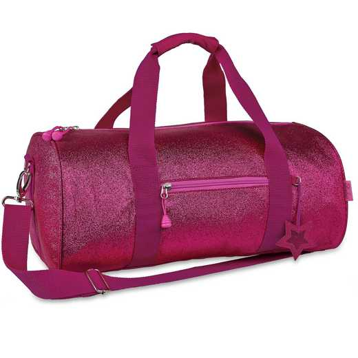 303023: Bixbee Sparkalicious Ruby Raspberry Duffle - Large